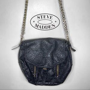 Steve Madden Vegan Leather Chain Crossbody